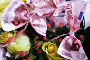 Taufgeschenke Geld Origami